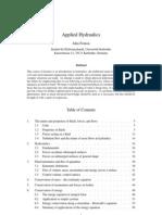 Applied Hydraulics