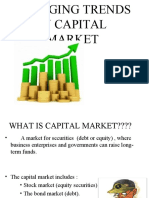 Emerging Trends in Capital Market