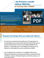 Comunidades de Práctica usando Recursos Educativos Abiertos