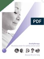 Cervical Brachytherapy Patient Guide