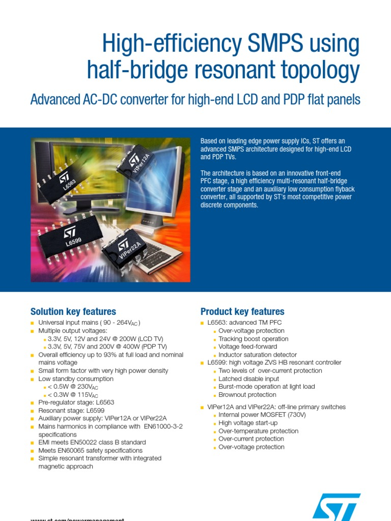 Datasheet Power Supply Digital Electronics Protection Of The Mosfet In Flyback