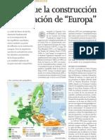 la construcción de europa le monde