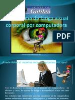El síndrome de fatiga visual corporal por computadora