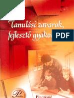 Pinczésné dr. Palásthy Ildikó - Tanulási zavarok, fejlesztő gyakorlatok