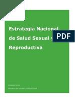 Estrategia Nacional Salud Sexual y Reproductiva