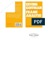 Goffman - Framing Analysis
