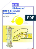 33300656 Guidelines on Energy Efficiency of LiftnEsc Installations 2007