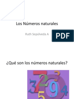Los Números naturales