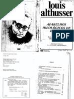 AULA02a AD - ALTHUSSER, L.P. Aparelhos  Ideológicos de Estado pp53-72