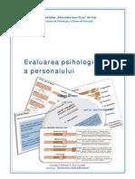 Evaluarea Psihologica a Personalului