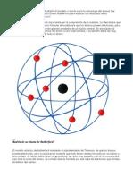 El modelo atómico del fisico Rutherford