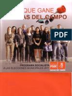 2011 - Programa Electoral PSOE