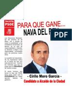PROGRAMA  PSOE NAVA DEL REY 2011