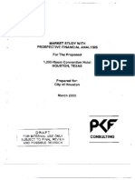 PKF 2000 Feasibility DCF for CC Hotel
