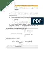 Diseño de filtros por el método de la aproximación