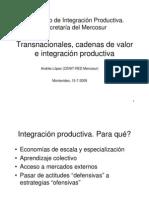 Transnacionales Cadenas de Valaro e Integracion Productiva_Andres Lopez