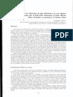 CAMPILLO 1999 - Réplica a las objeciones de tipo Anatómico, en que algunos fundamentan que el fósil VM0 exhumado en Venta Micena no pertenece al Género Homo