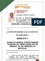 Presentación GALÁPAGOS 14-05-2011