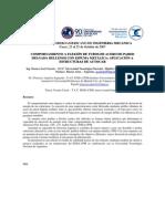 COMPORTAMIENTO A FLEXIÓN DE TUBOS DE ACERO