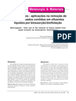 biorreagentes_ aplicação na remoção de metais pesados contidos em efluentes líquidos por biossorção_bioflotação