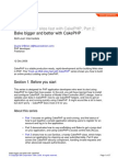 CakePHP tutorial no. 2 from IBM