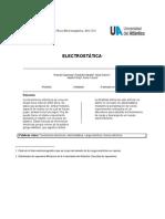 Informe de Fisica Electromagnetic A - Electrostatica