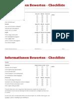Informationen-Bewerten