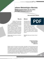 Crítica ao individualismo motodológico marxista - Fabio Lacerda