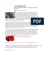 Noble Mothers May 2011 Newsletter