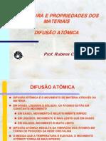 DIFUSAO ATOMICA