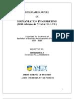 2276. Segmentation of Marketing [Nokia]