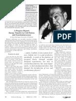 Julian Schwinger a Progress Report