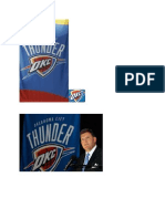 OKC Thunder first team photos in team history