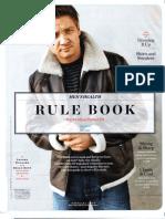 Men's Health Rule Book Fall 2010