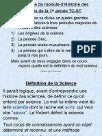 Hist Science 1