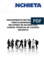 Manual Relat de Estagio Cursos Tecnicos