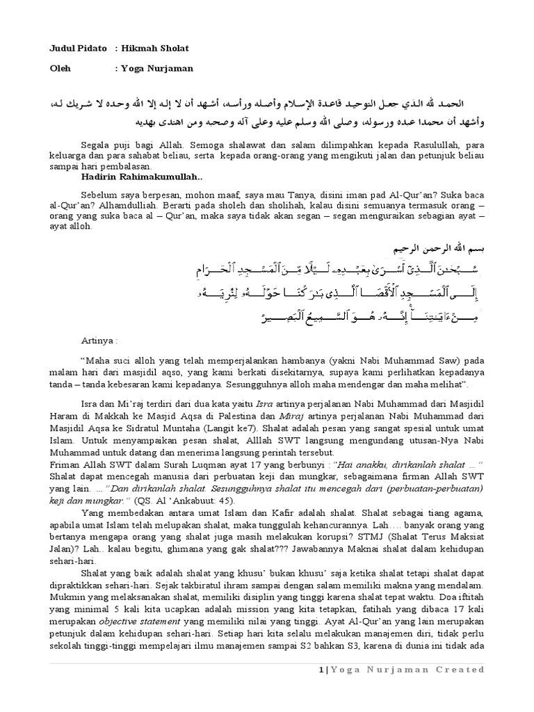 Pidato Islam