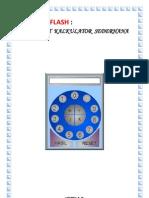 Belajar Flash Membuat Kalkulator Sederhana - Nurdiana.web.Id