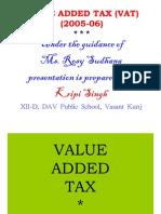 Value Added Tax (Vat)(2005-06)