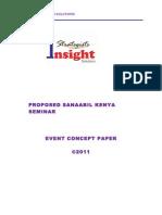 Event Concept Paper