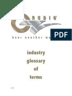 Oz Audio Glossary