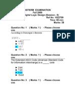 2 Cs302 Mid Term Solved Paper