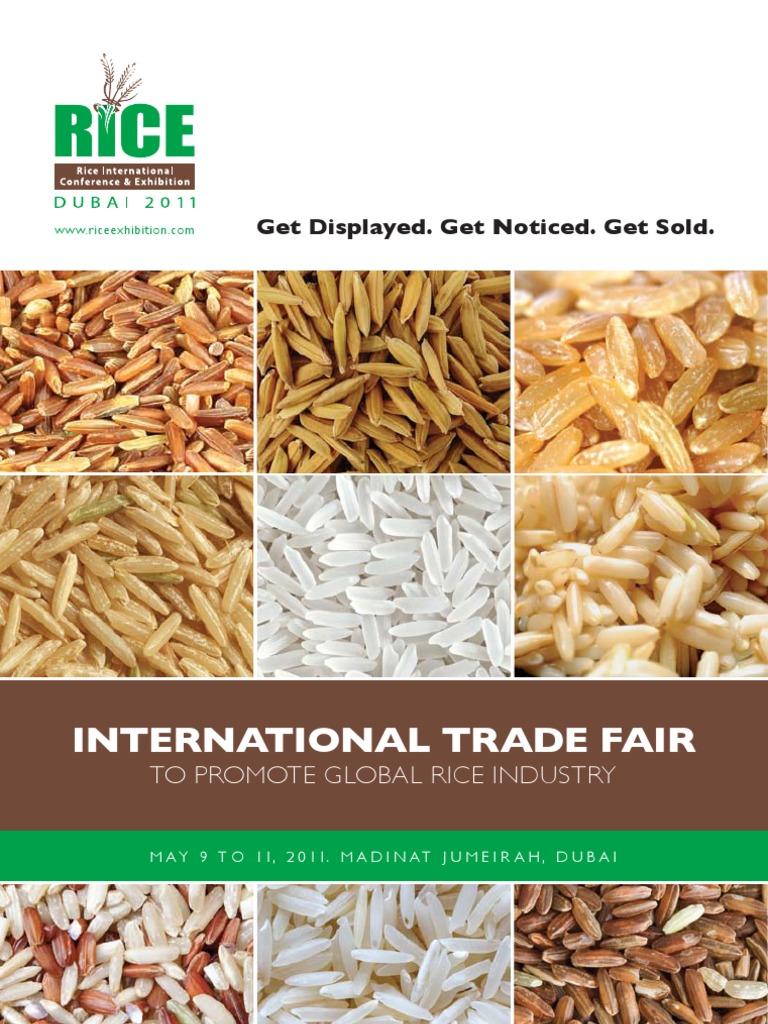 Rice Dubai 2001 Brochure   Rice   Dubai