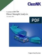 NKK-Guidelines for Direct Strength Analysis