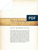 Chronological Reading Plan