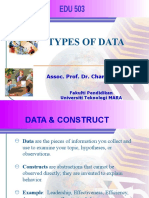 Types of Data(1)