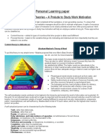 Personal Learning Paper