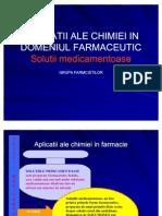 Aplicatii Ale Chimiei in Domeniul Farmaceutic