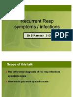 Rec Resp Infections in Children
