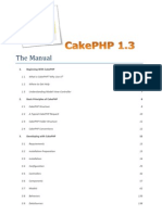 CakePHP 1.3 Manual